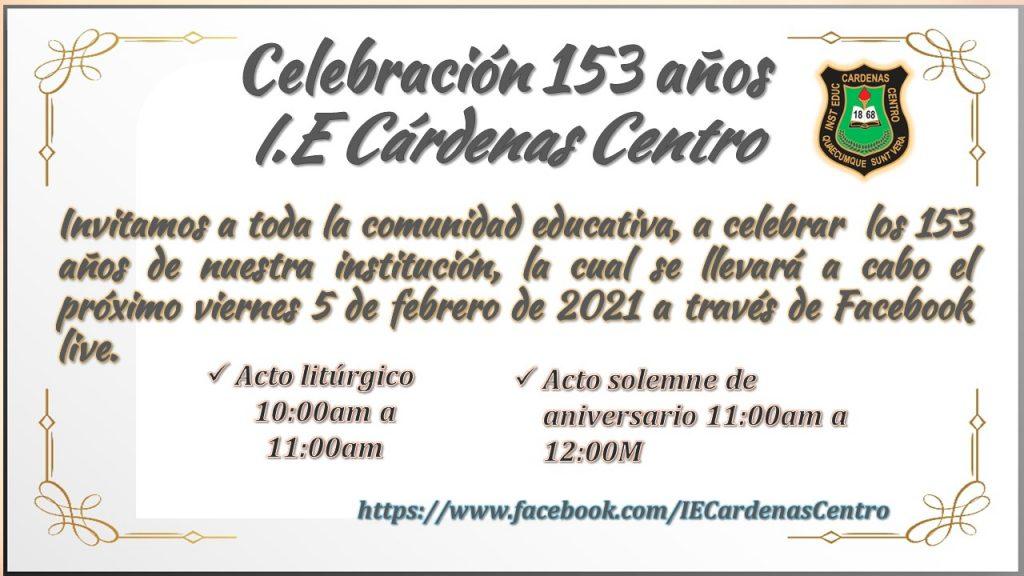 Celebración 153 años i